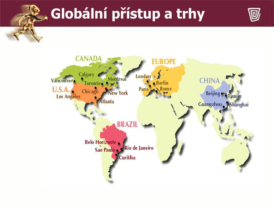 Globální přístup a trhy