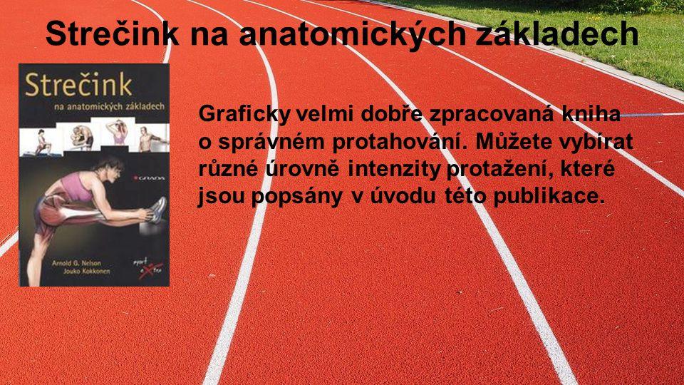 Strečink na anatomických základech Graficky velmi dobře zpracovaná kniha o správném protahování.