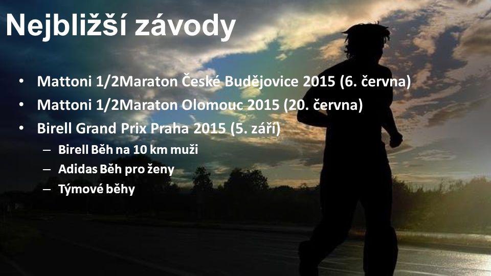 Nejbližší závody Mattoni 1/2Maraton České Budějovice 2015 (6.