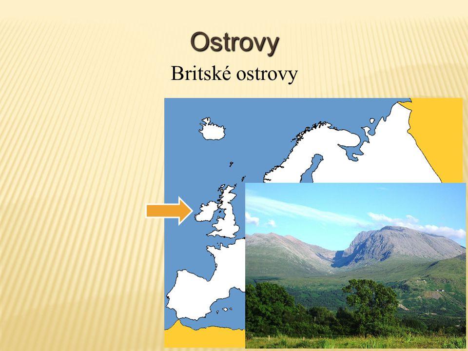 Ostrovy Britské ostrovy