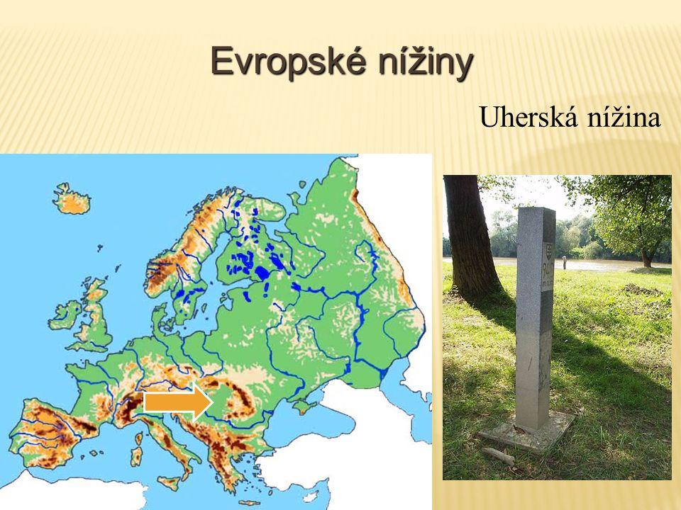 Evropské nížiny Uherská nížina