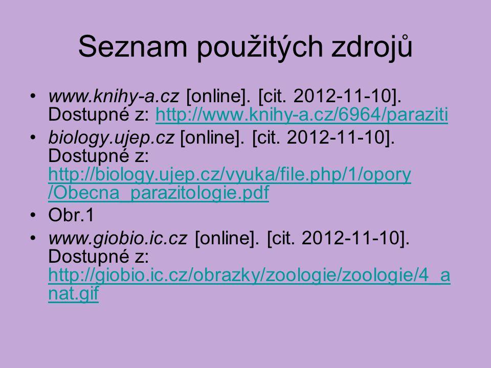 Seznam použitých zdrojů www.knihy-a.cz [online]. [cit.