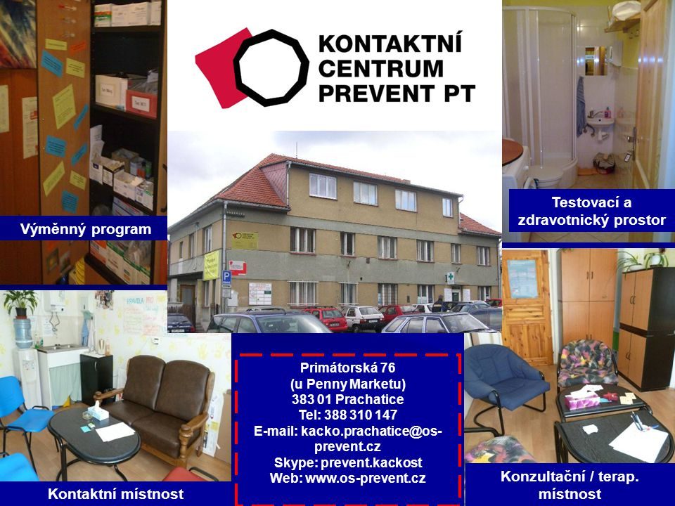 Kontaktní místnost Konzultační / terap.