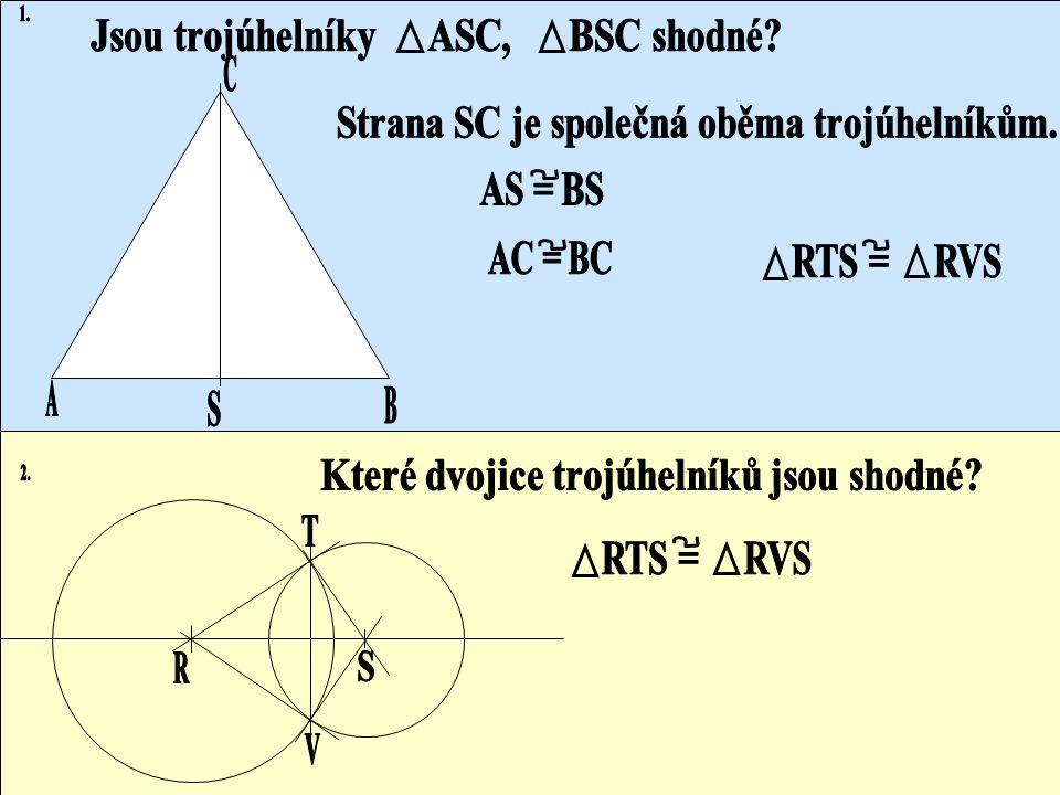 Shodné trojúhelníky
