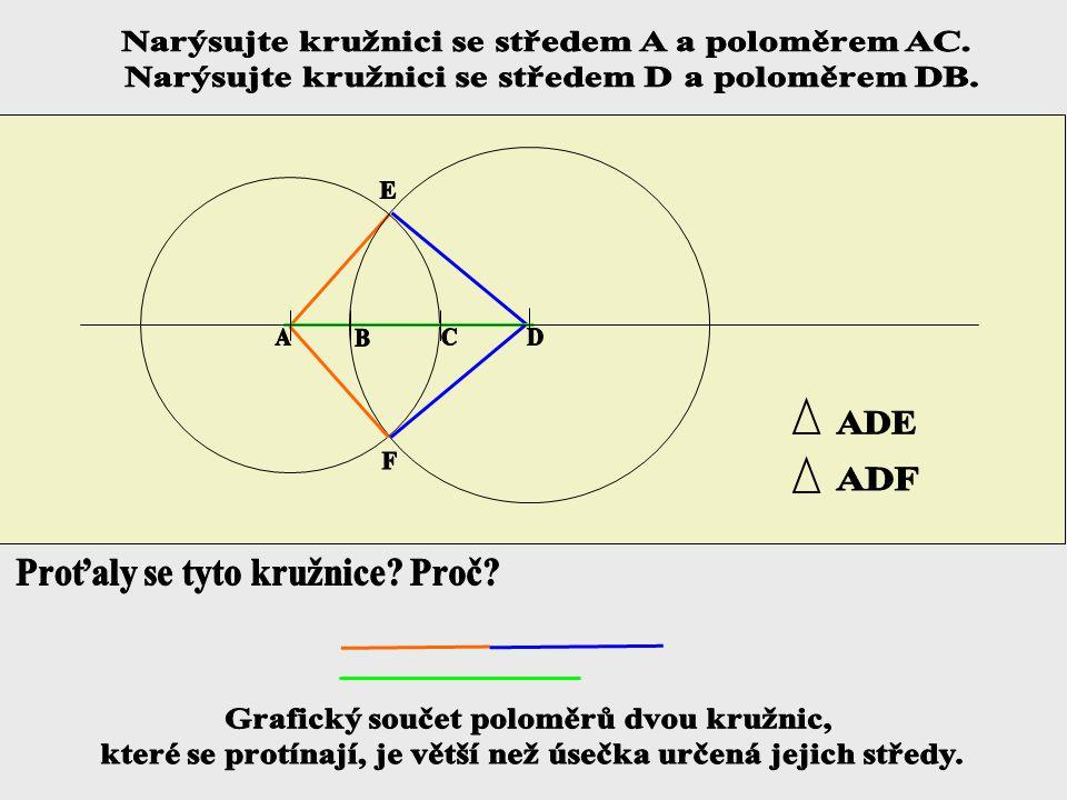 2. Konstrukce trojúhelníku z daných stran