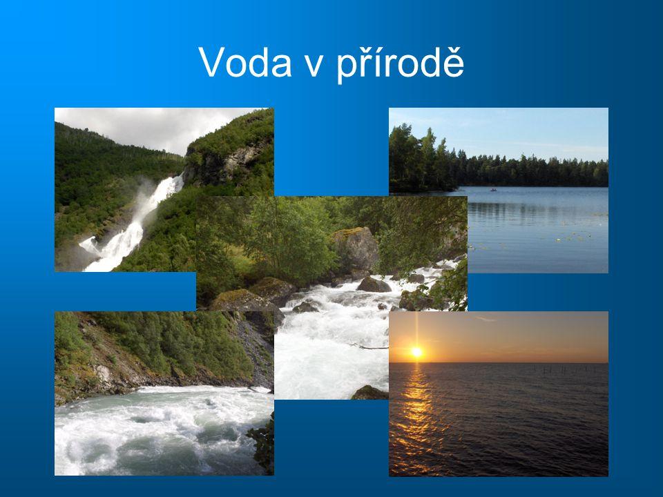 Voda v přírodě
