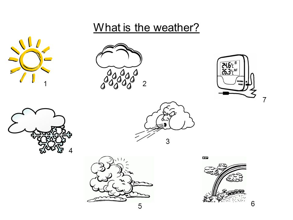 What is the weather 12 3 4 5 6 7
