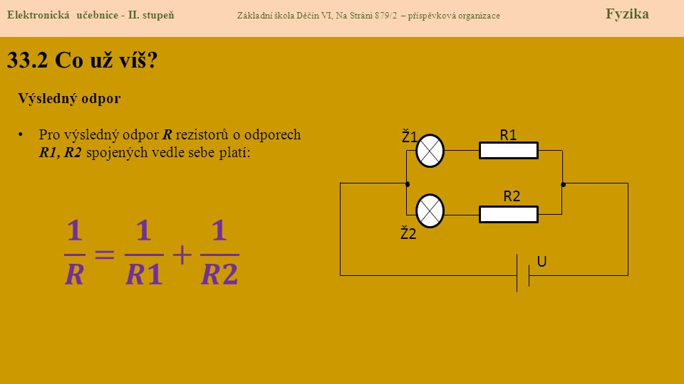 33.2 Co už víš.Elektronická učebnice - II.