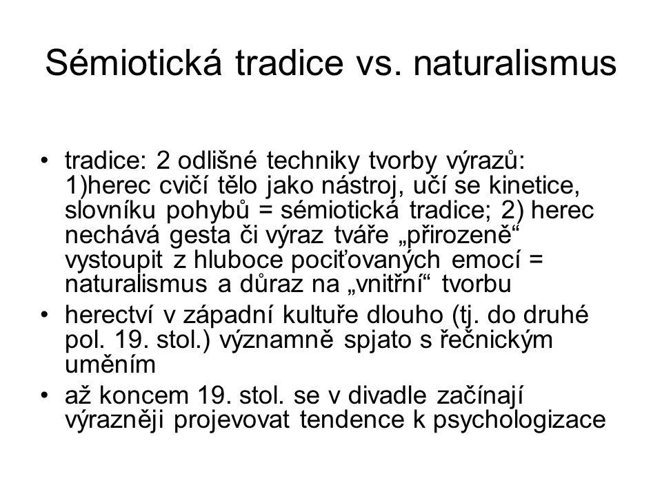 Sémiotická tradice vs.