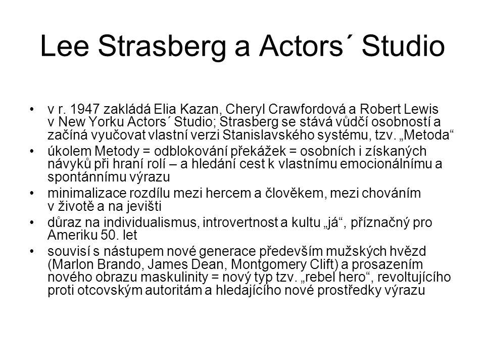 Lee Strasberg a Actors´ Studio v r.