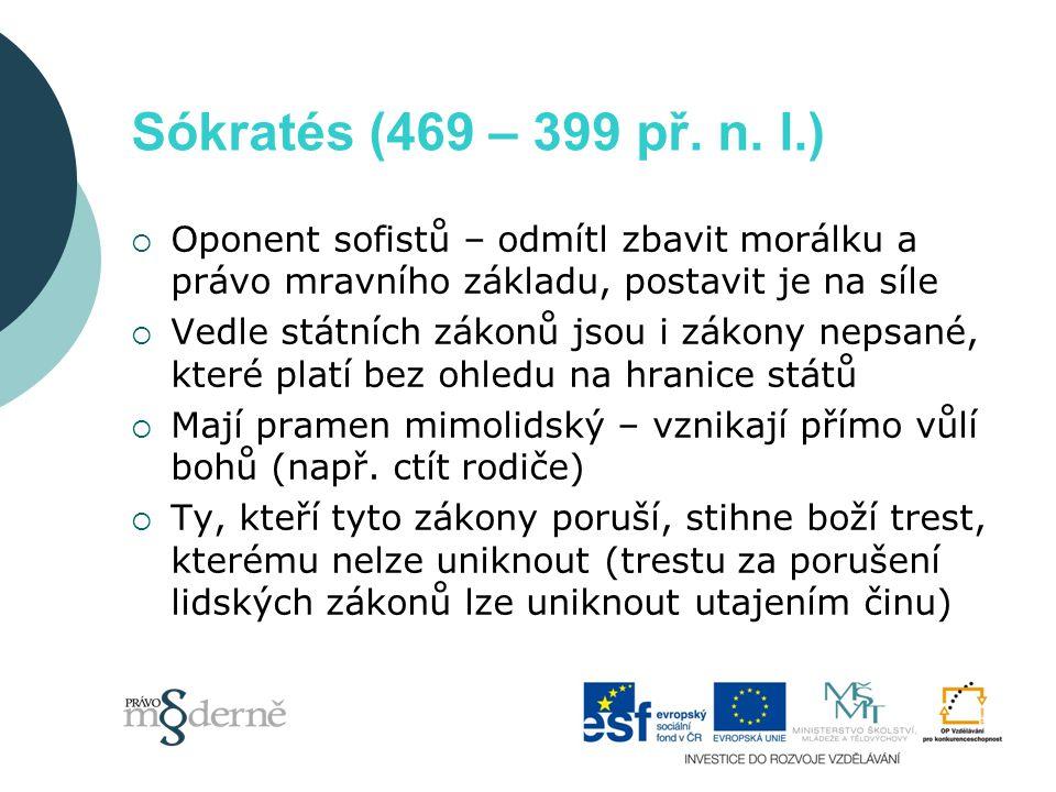Sókratés (469 – 399 př. n.