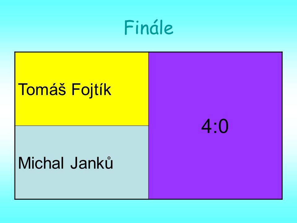 Finále Tomáš Fojtík 4:0 Michal Janků