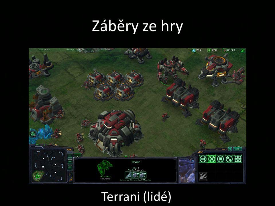 Záběry ze hry Terrani (lidé)