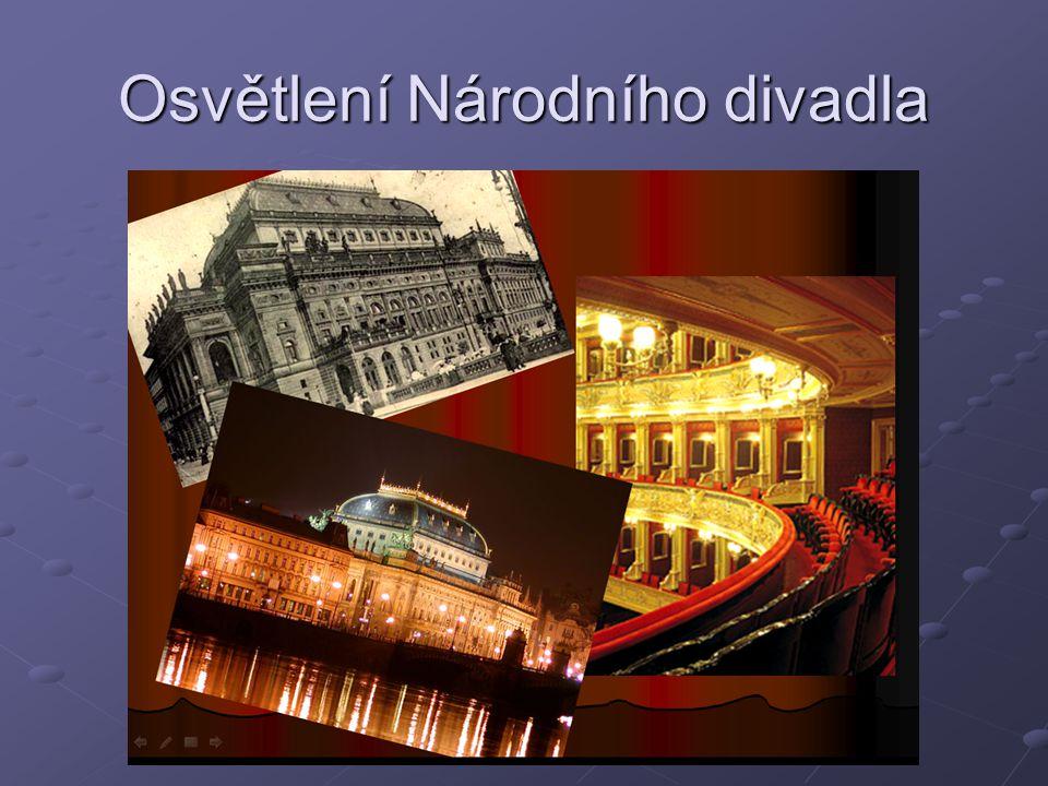 Osvětlení Národního divadla
