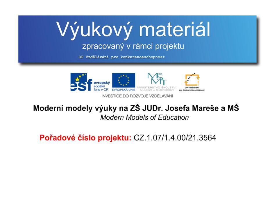 Multimédia Multimediální prezentace