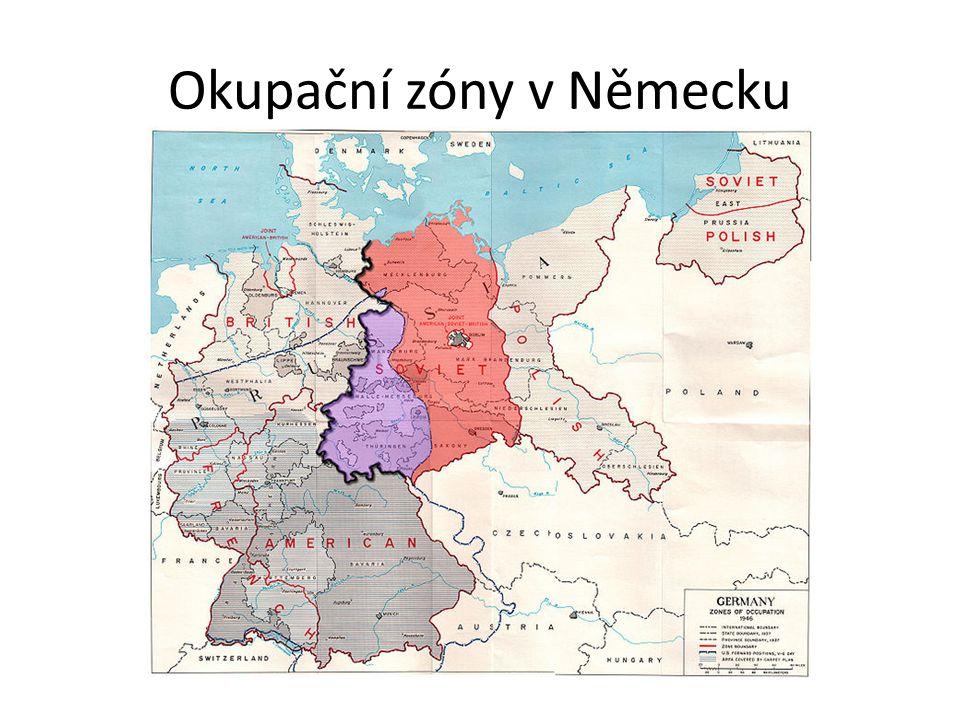 Okupační zóny v Německu