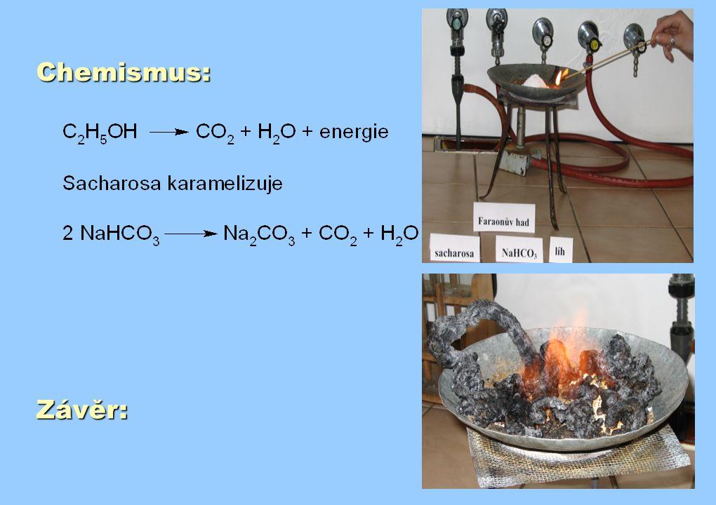 Chemismus: Závěr:
