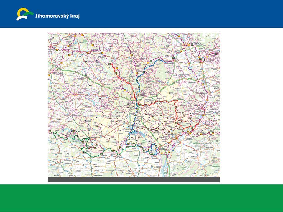 Studie konečného vedení trasy Euro Velo 13 na území JMK, zpracovatel f.