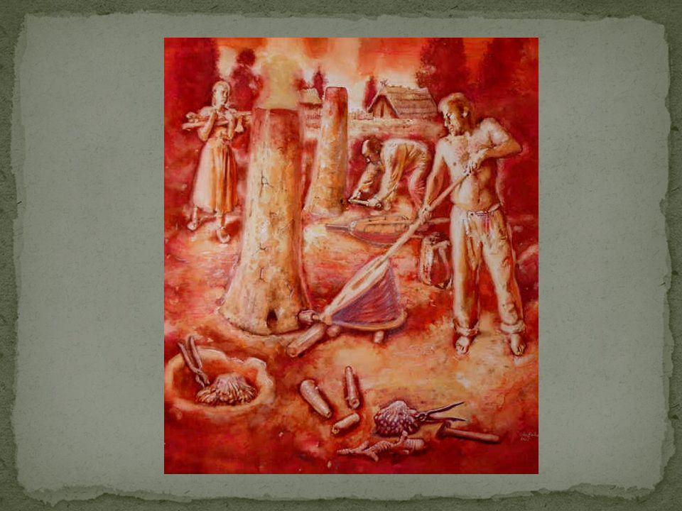 Keltové budovali hradiště = oppida – systém opevnění z valů a příkopů; kamenné sídlo velmože – vládce hradiště, uč.