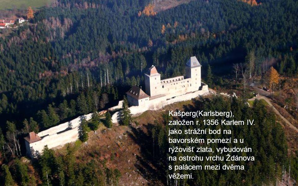 …je to hrad Kašperk