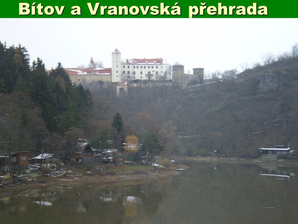 Bítov a Vranovská přehrada