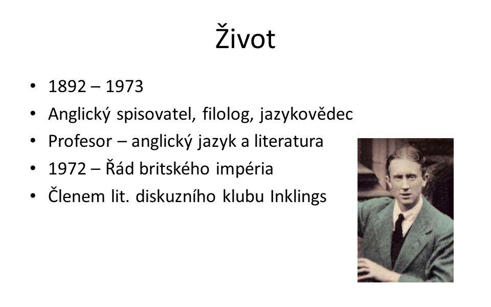 Život 1892 – 1973 Anglický spisovatel, filolog, jazykovědec Profesor – anglický jazyk a literatura 1972 – Řád britského impéria Členem lit. diskuzního