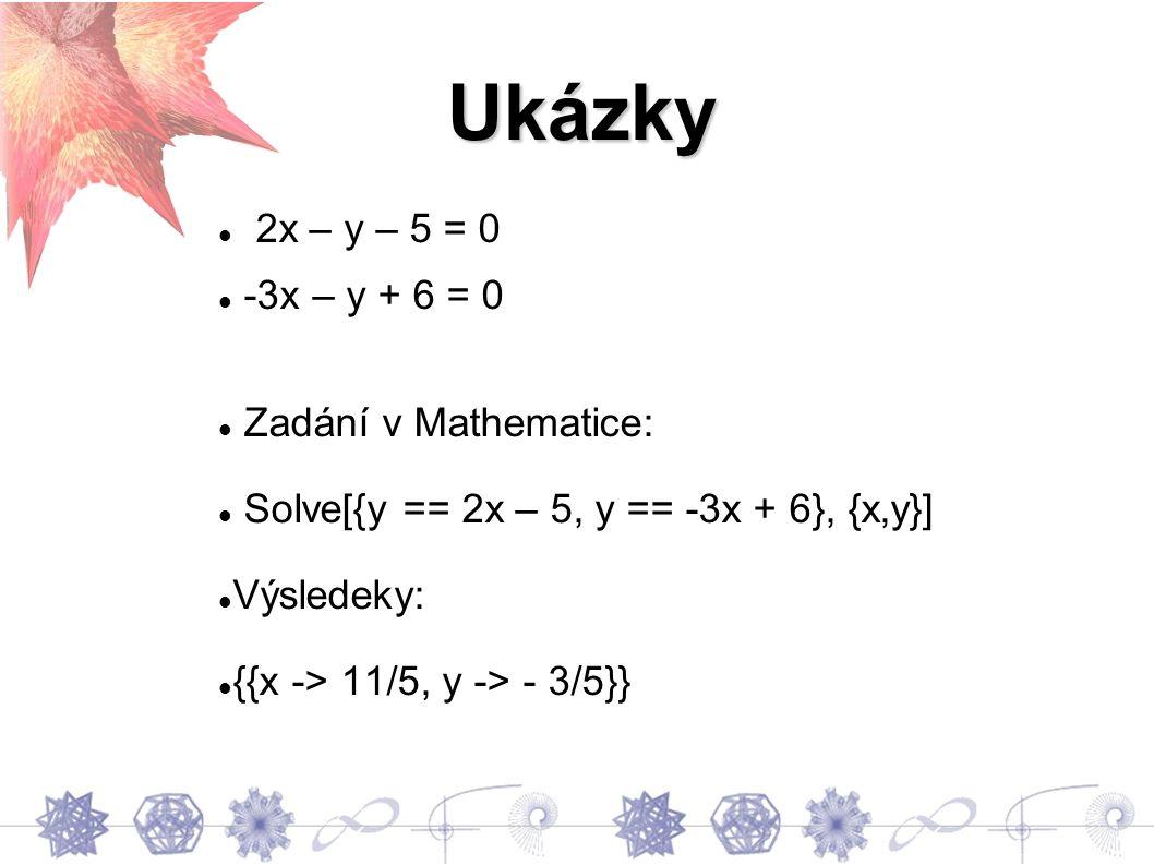 Graf k předchozím rovnicím