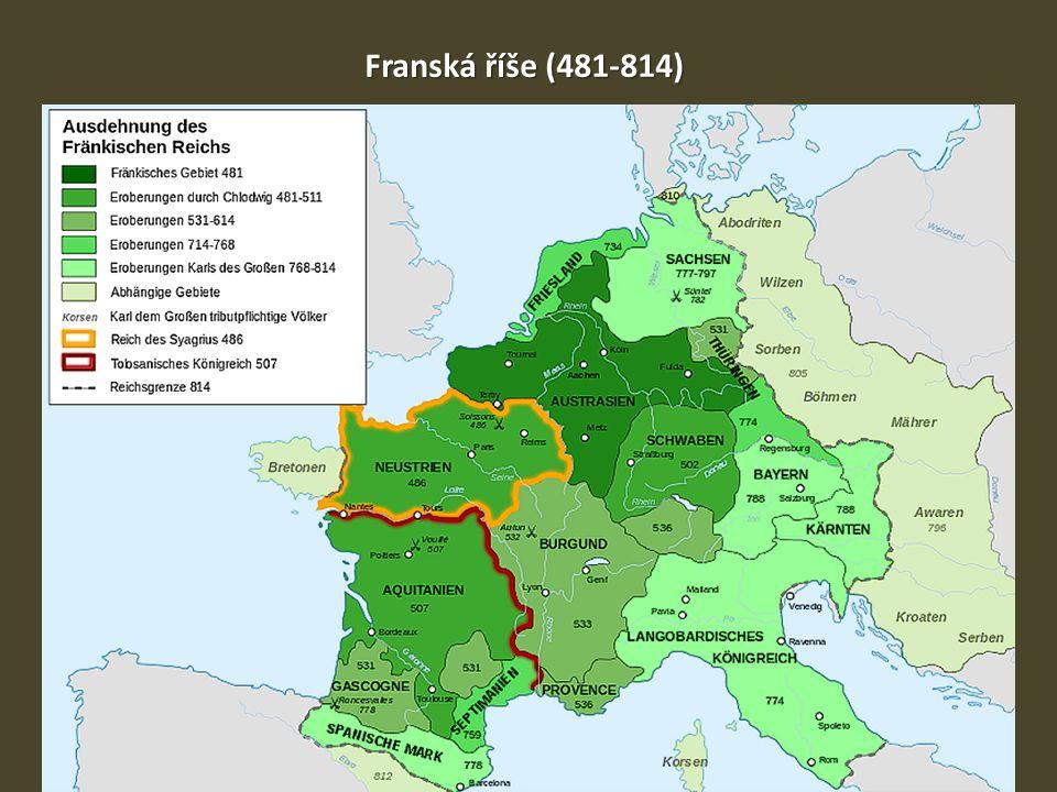 Franská říše (481-814)