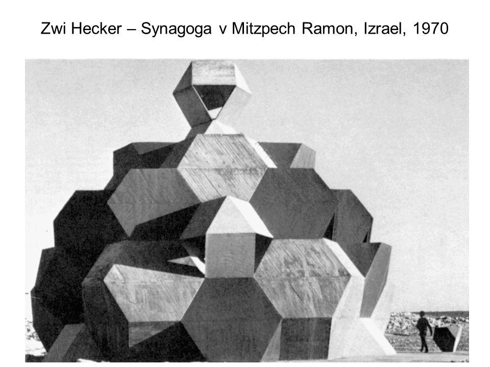 10 Zwi Hecker – Synagoga v Mitzpech Ramon, Izrael, 1970