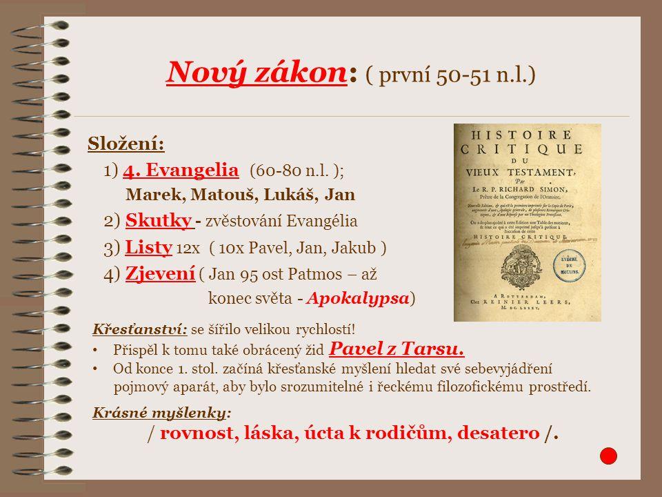 Období patristiky je 1.-8.stol. Členění: a) apologetika a antignostika - 1.