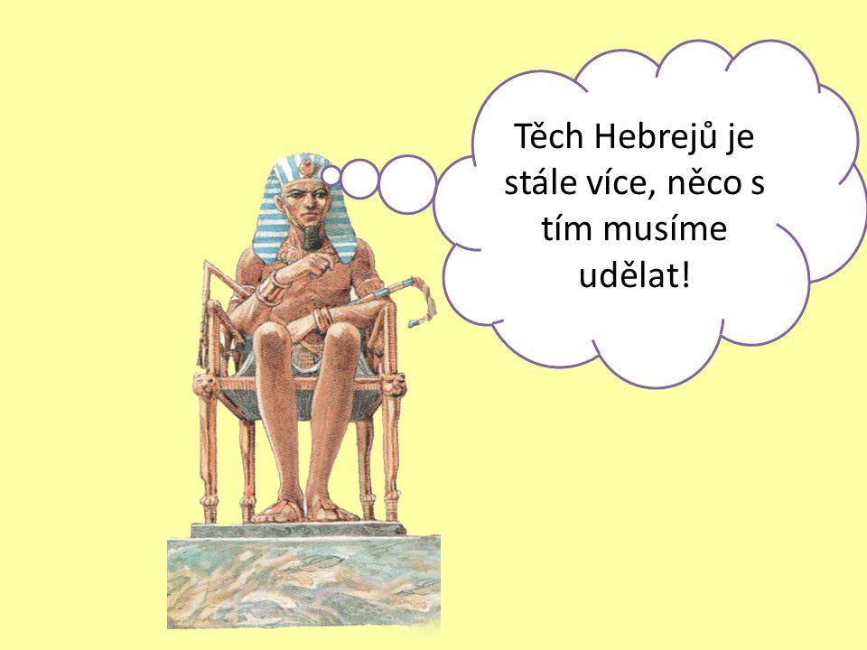 Těch Hebrejů je stále více, něco s tím musíme udělat!