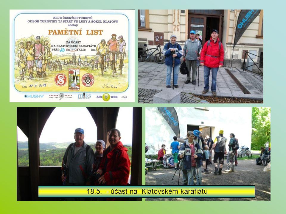 11.5. - účast našich na Líňském maratonu