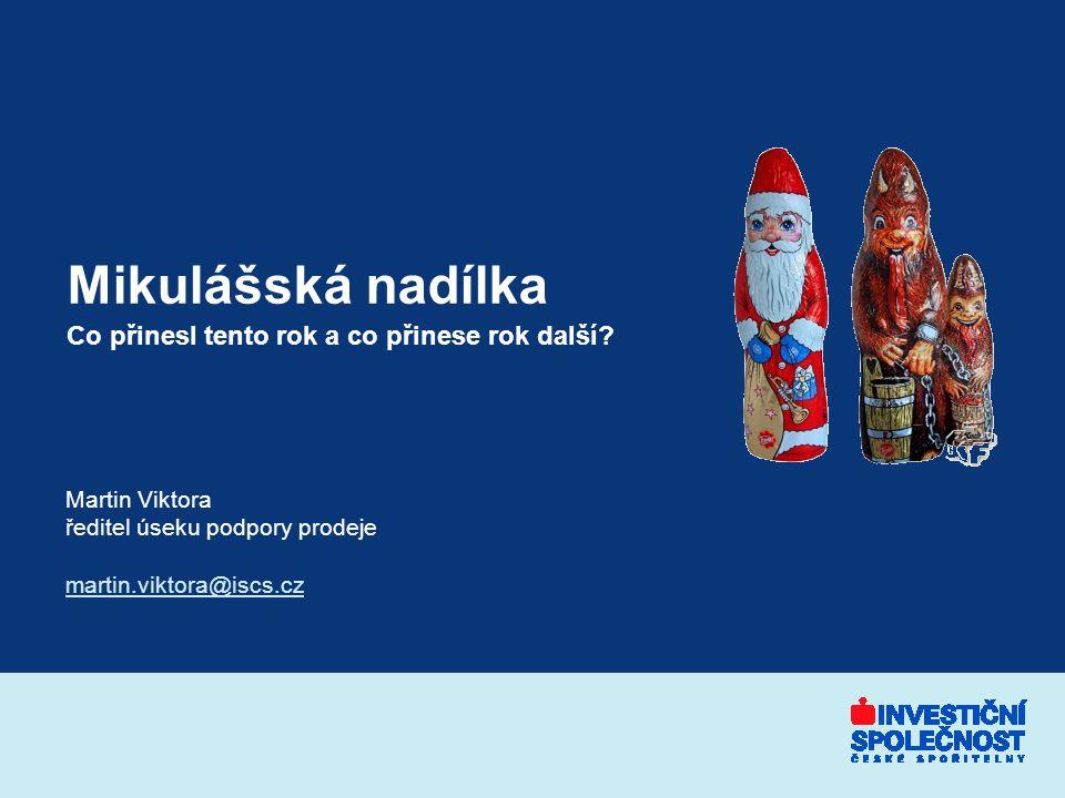 2 Bohatá nadílka ve střední Evropě Zdroj: www.ifondy.cz, 6/12/2004