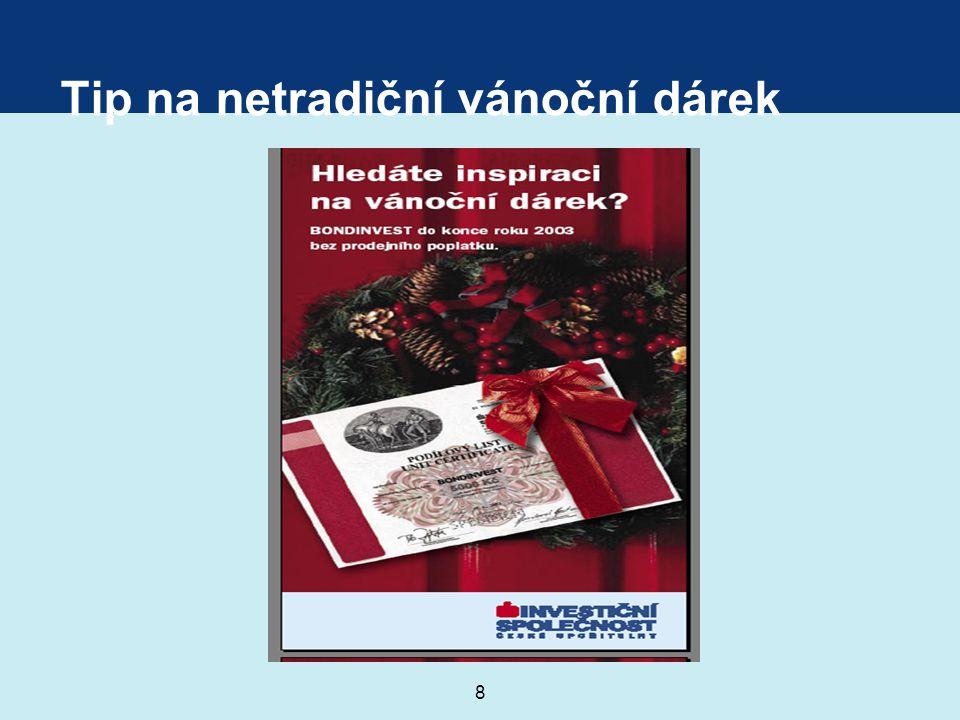 8 Tip na netradiční vánoční dárek