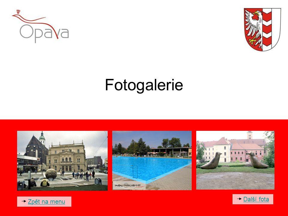 Fotogalerie Zpět na menu Další fota