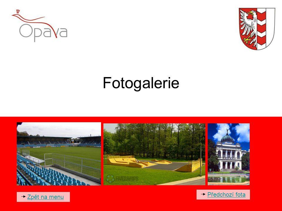 Fotogalerie Zpět na menu Předchozí fota