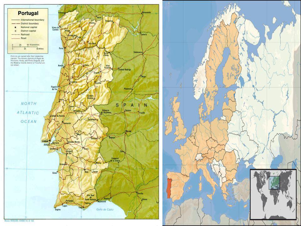  Hlavní m ě sto: Lisabon  Rozloha: 92 391 km² (108.