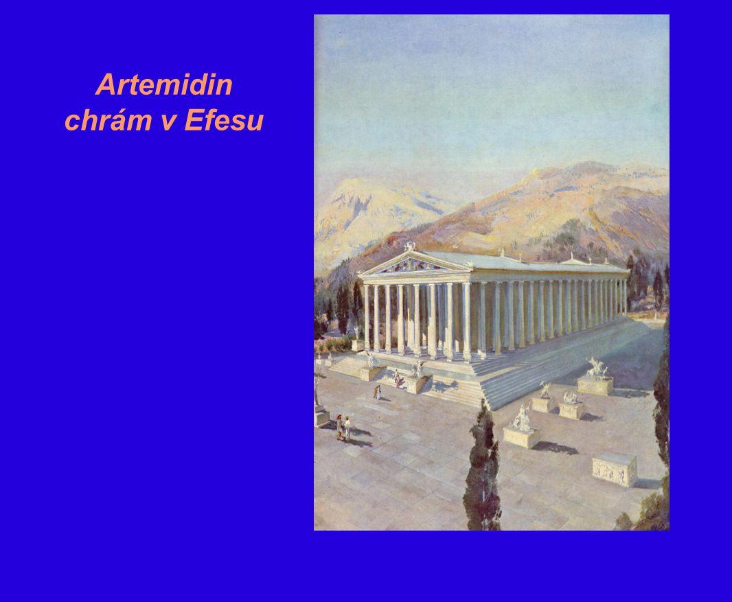 Artemidin chrám v Efesu