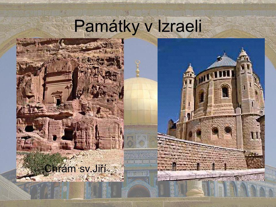 Památky v Izraeli Chrám sv.Jiří