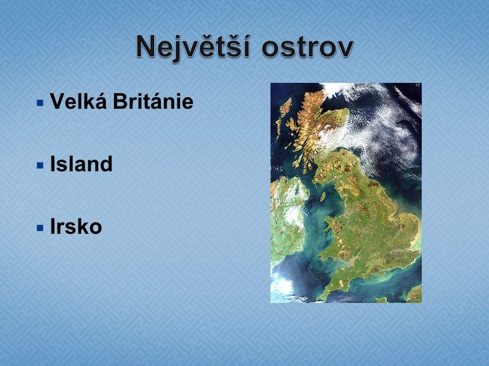  Velká Británie  Island  Irsko