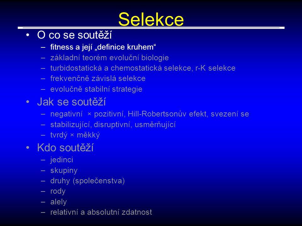 epistáze Kontextově podmíněný projev genů pleiotropie Gen 1 Gen 2 Gen 3 Gen 4 znak 1 znak 2 znak 3 znak 4 Gen 1 Gen 2 Gen 3 Gen 4 znak 1 znak 2 znak 3 znak 4