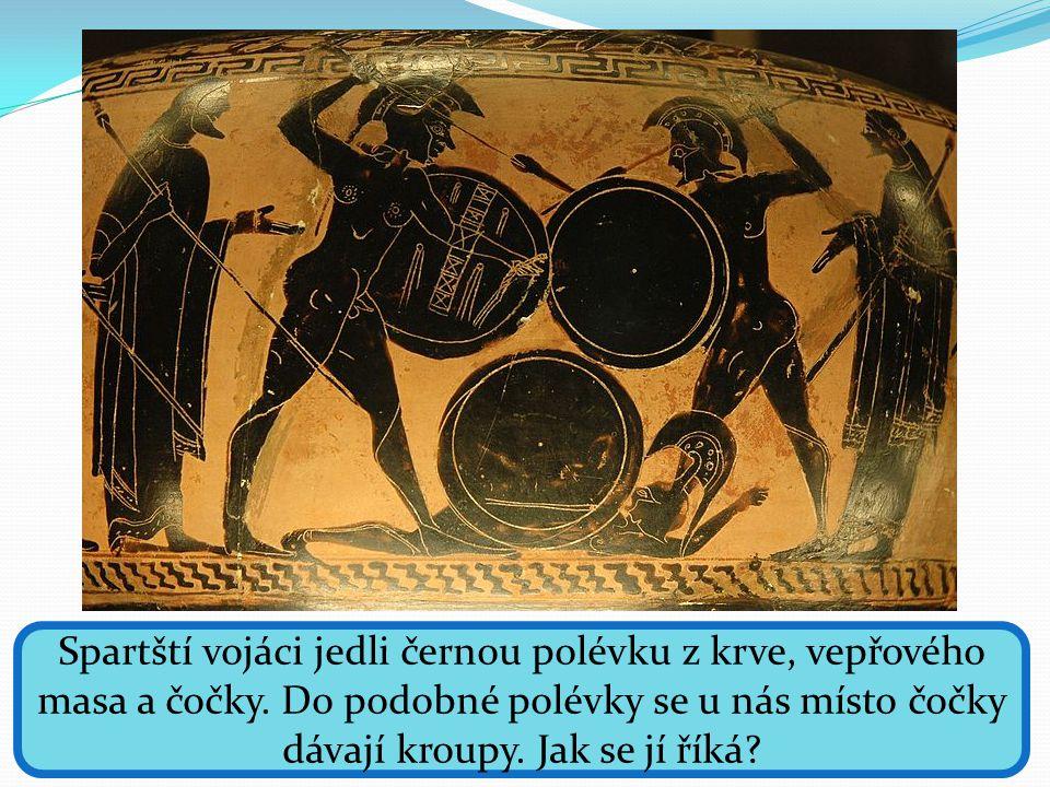 Sparta kladla důraz na tělesnou zdatnost, méně na vzdělání a kulturu.