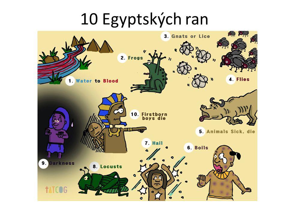 10 Egyptských ran