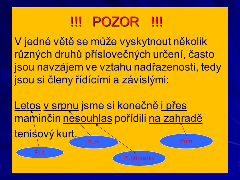 !!. POZOR !!. !!. POZOR !!.