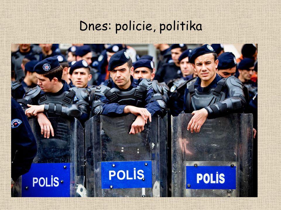 Dnes: policie, politika