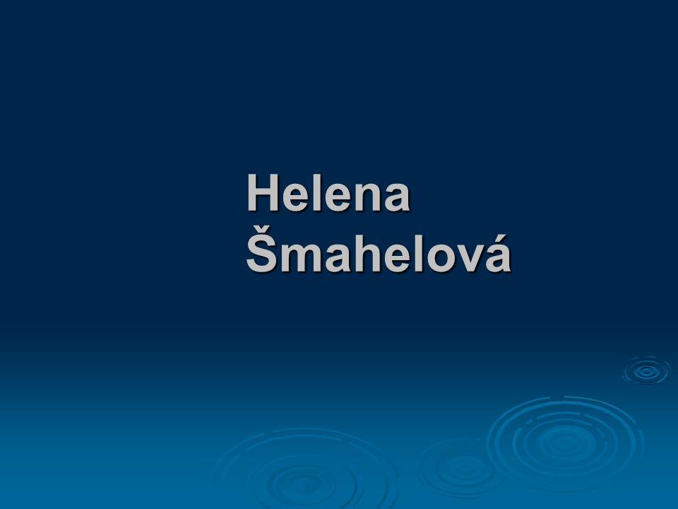 Helena Šmahelová