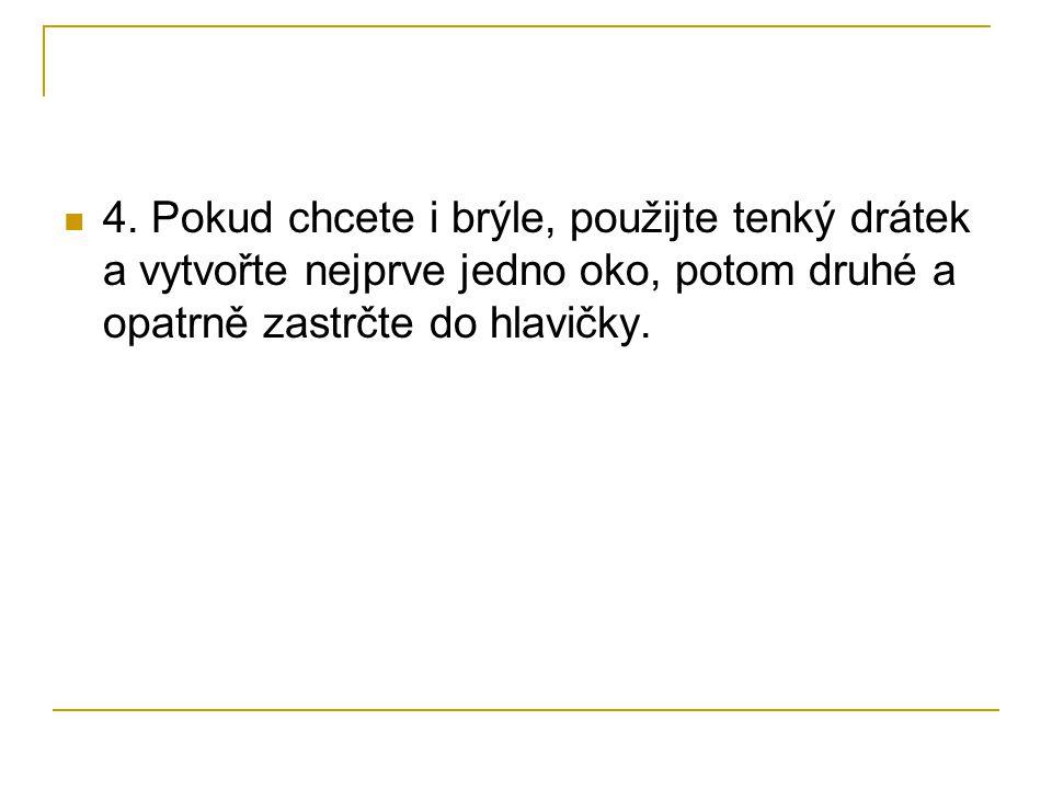 5.Hotovou hlavičku ponořte do misky s vodou a nechte vodu nasát až k semínku, klidně přes noc.