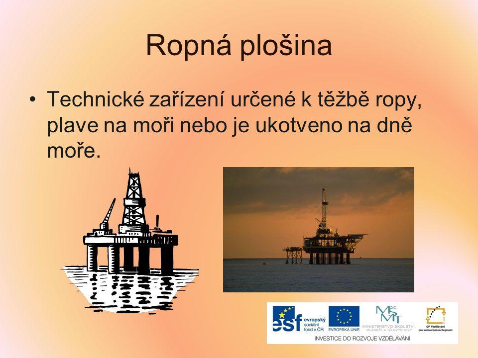 Víš, jak se říká dlouhému potrubí, kterým proudí ropa na různá místa určení.