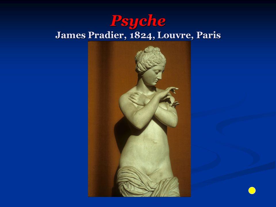 Psyche James Pradier, 1824, Louvre, Paris