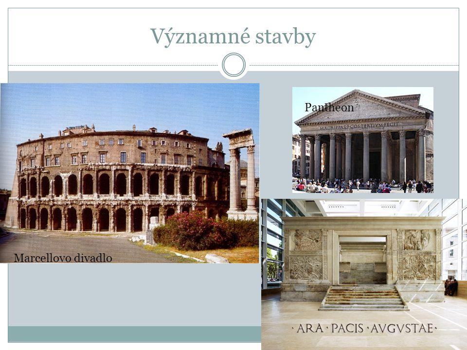 Významné stavby Marcellovo divadlo Pantheon